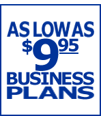 As Low As $9.95 Business Plans